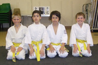 New yellow belts - click to view larger image